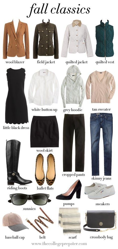 Classic Fall Pieces to Stock Up On: Fall Style, Capsule Wardrobe, Fall Classics, Classic Fall, Fall Fashion, Fall Essentials, Fall Winter