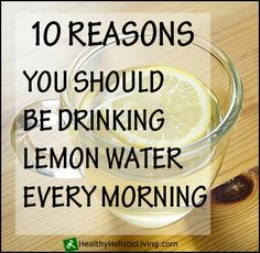 If you aren't drinking warm lemon water every morning you are missing the boat.  Check out the 10 reasons you should drink lemon water in the mornings