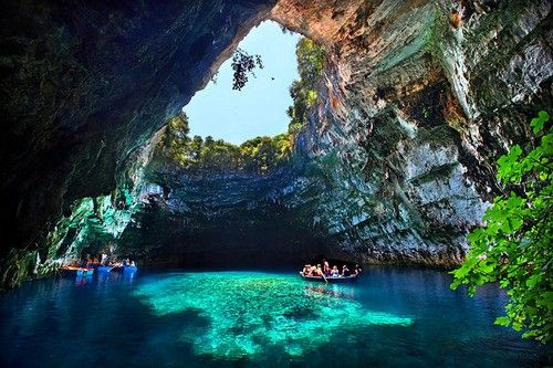 kefalonia, greece: Bucket List, Favorite Places, Caves, Greece, Beautiful Places, Places I D, Lake, Travel