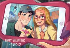 Takashi and Honey Lemon ~Big Hero 6