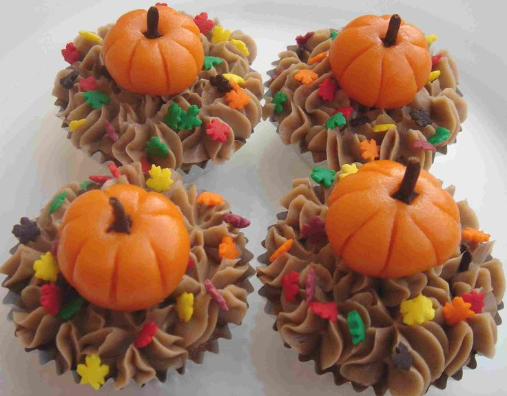 Thanksgiving Cupcakes: Cup Cakes, Decorating Idea, Holiday, Pumpkin Cupcakes, Food, Cupcake Ideas, Fall Cupcakes, Thanksgiving Cupcakes, Dessert