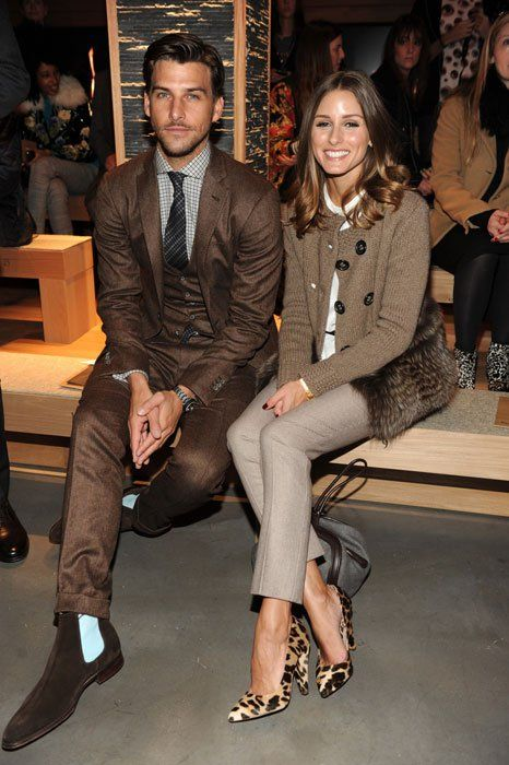 Fall Colors: Oliviapalermo, Johannes Huebl, Fashion Couple, Style, Outfit, Olivia Palermo, Stylish Couple