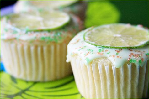Margerita Cupcakes.    I've made these a few times and they're really popular.: Sweet, Cincodemayo, Food, Cupcakes Desserts Baking, May 5, Cupcakes De Margarita Jpg, Margaritas, Margarita Cupcakes, Party Ideas