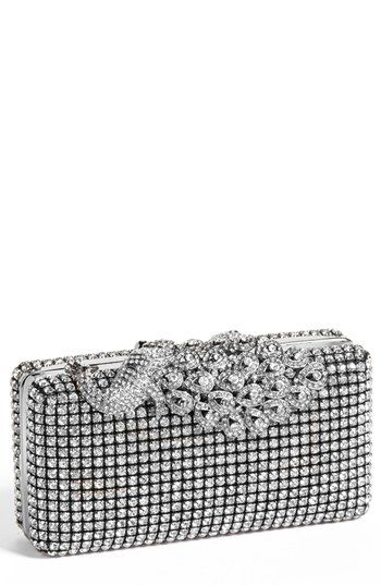 Natasha Couture Peacock Top Crystal Clutch | Nordstrom: Feathers Atop, Couture Peacock, Extravagant Peacock, Natasha Couture, Crystalline Feathers