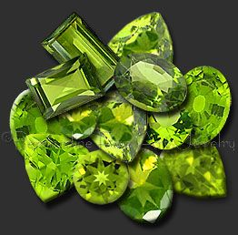 "Legend says that peridot was one of the favorite gemstones of Cleopatra and that some of the ""emeralds"" worn by her were actually peridot.: Peridot Gemstones, Gems Peridot Chrysolite, Gemstones Peridot, Colorful Gemstones, Peridot, Green Gem, Chry"