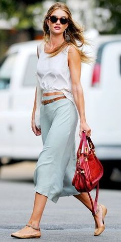 our editor secrets for pulling off a midi skirt