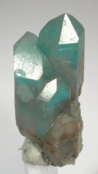 Ajoite is a rare stone from South Africa. It is a strengthener, healer & harmonizer of the emotional body. It has very sweet vibrations not only to soothe us, but to draw out the poison of one's subconsciously held sorrows, fears, rage & old wound