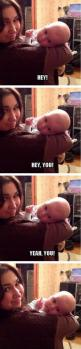 Hey, you there… // funny pictures - funny photos - funny images - funny pics - funny quotes - #lol #humor #funnypictures: Babies, Funny Pics, Hey, Funny Shit, Funny Pictures, Funnypictures, Funny Stuff, Funnies