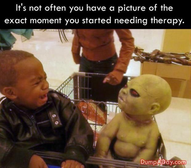 It's not often you have a picture of the exact moment you started needing therapy (OMG, I'm laughing so hard I'm crying): Giggle, Funny Picture, Funny Stuff, Humor, Baby, Funnie