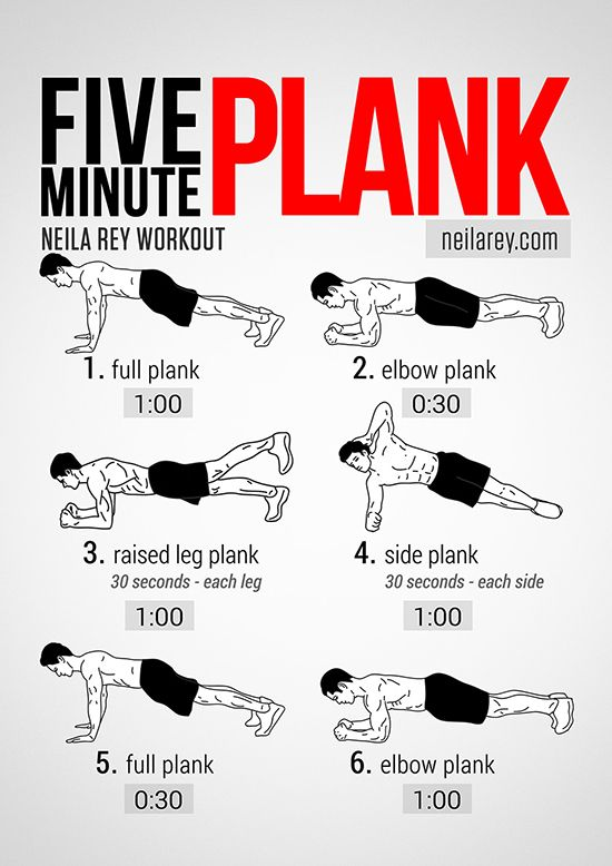 Neila Rey's Five Minute Plank Workout...I'm not sure I could make it through this.  At least not 5 minutes in a row...: Fit Body, Planks For Abs, Workout Plank, Workout Routine, 5 Minute Abs Workout, 5 Minute Workout Abs, Plank Workout, Plank Exer