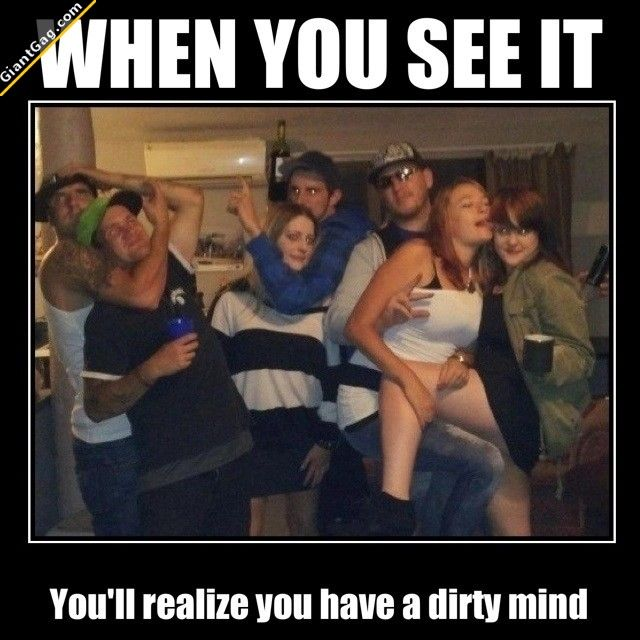 When You See It You'll Realize That You Have A Dirty Mind, Click the link to view today's funniest pictures!: Pinterest Humor, Funny Bone, Funny Pictures, When You See It, Dirty Mind, Funny Stuff, Funnies, Funny Fails, Laughter