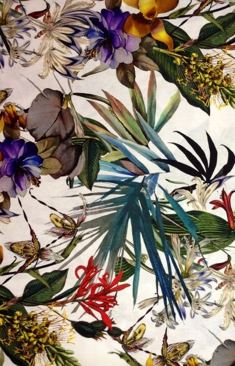 ZsaZsa Bellagio – Like No Other: Color Please: Inspiration, Tropical Pattern, Color, Tropical Flower, Wallpaper, Tropical Prints