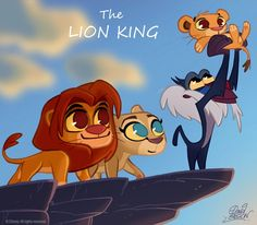 chibi disney characters | Disney Movie Characters Chibi Style by Artist David Gilson | Disney ...: Lionking, Disney Chibi, Chibi Lion, Art, Movies, David Gilson, The Lion King, Disney Movie
