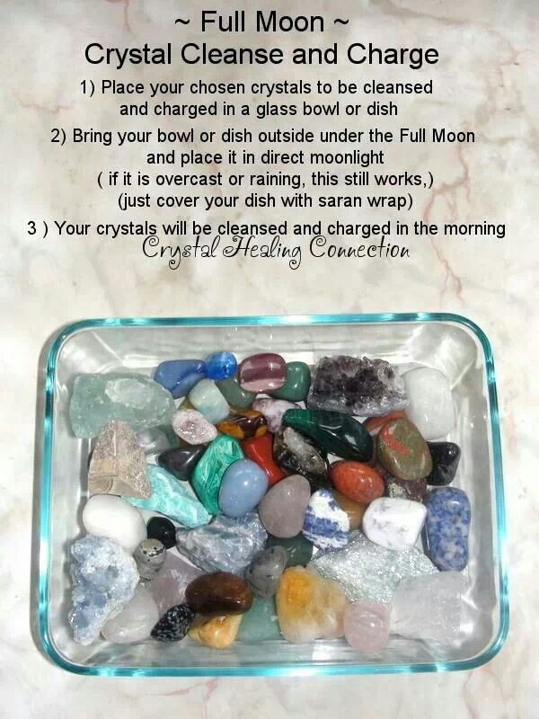 Full moon crystal cleanse and charge: Crystals Gemstones Rocks, Crystals Stones Gems, Gemstones Geodes Crystals, Cleaning Gemstones, Full Moon, Gemstones Crystals Rocks, Healing