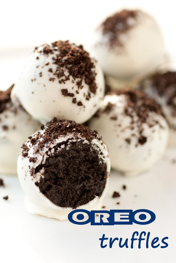 Oreo truffles, made these years ago. I put the balls in the freezer for 15 minutes before dipping. Work fast!: Christmas Truffle, Sweet, Oreo Balls, Cooking Classy, Oreotruffles, Food, Oreo Truffles, Oreo Recipe, Dessert