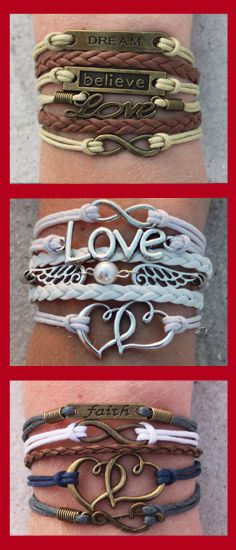 Over 60 different charm bracelets to chose from. Use coupon code: PINTERESTSALE and get 3 Modwraps of your choice for FREE!  Just cover shipping.  Coupon expires 7/31/15.  --> http://www.gomodestly.com/3-pinterest-sale-3/: Idea, Charm Bracelets, Style,