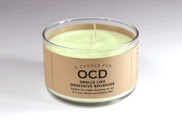 A Candle for OCD Whiskey River Soap Co: River Soap, Whiskey River, Funny True Things, Ocd Whiskey, Gift Ideas, Candles, Funny Stuff, Craft Ideas