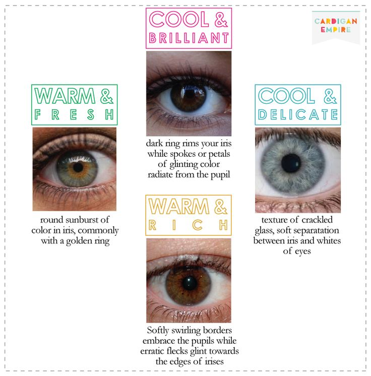 Cardigan Empire:Eyes for Cool & Delicate color and other eye colors from different seasonal colors: Eye Color, Colour Analysis, Color Analysis, Eye Colour, Worst Colors, Color Theory, Eyes