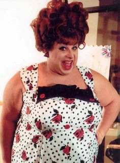 Divine (as Edna Turnblad) from John Waters' Hairspray, 1988