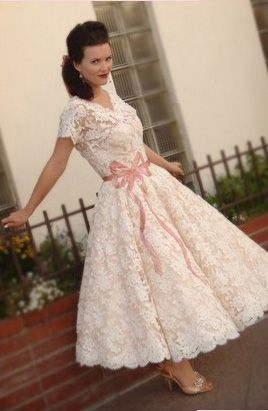 vintage wedding dress: Wedding Dressses, Vintage Wedding, Style, Wedding Ideas, Wedding Dresses, Weddings, Retro Wedding