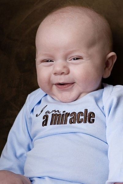 Yes, little baby, you will be a miracle to us - answered prayers, fulfilled dreams, dried tears, heart complete.: Babies, Baby Needs, Children, Baby Shower Gifts, Miracle Baby, Kids, Cute Babies, Baby Boy