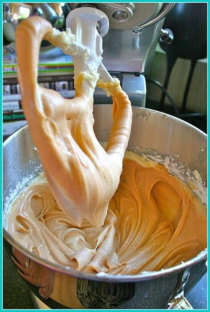 Another pinner said: Salted caramel frosting. I have a cult following because of this icing. There's a tub of this in my fridge, and on bad days, I get a spoonful. It's.just.that.good.: Cake Recipe, Frostings Icing, Icing Frosting, Cake Frosting,
