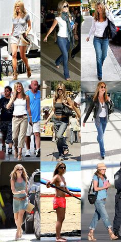 effortless sexy style! she always looks great.. but in a every girl kind of way