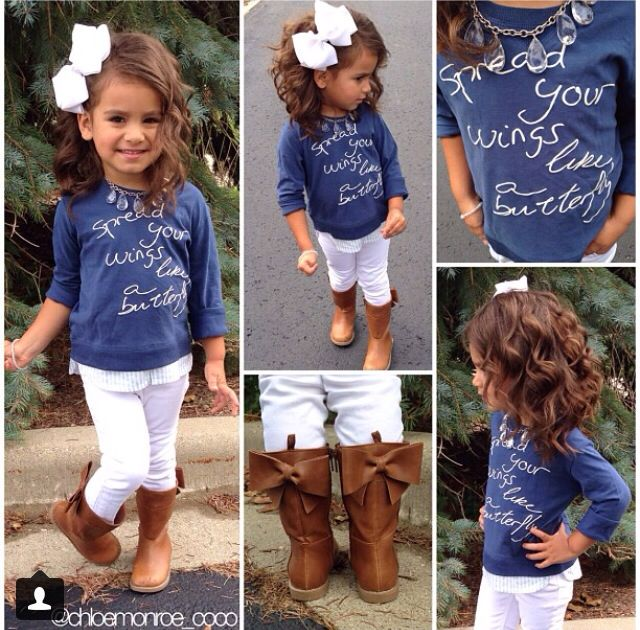 Girl outfit 3: Babygirl, Fall Outfits, Adorable Boots, Girls Outfits, Hair Bows, Big Girls, Bow Boots