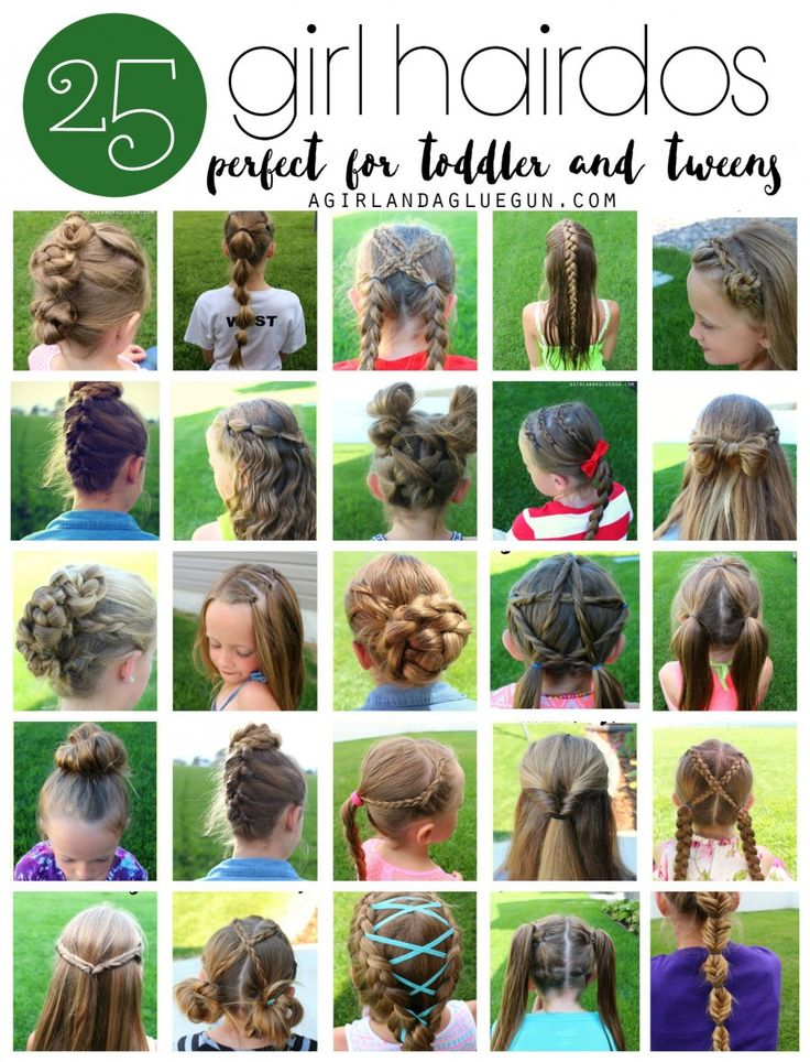 Hairstyles | 25 easy hair styles for toddlers, tweens, and kids: Easy Toddler Girl Hairstyles, Easy Kids Hairstyles Girls, Hairstyles For Tween Girls, Easy Girls Hairstyles, Easy Kid Hairstyles Girls, Girl Hair Styles, Easy Hairstyles For Toddlers, 25 Gir