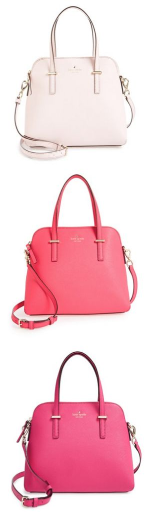 i'll take one in each color, please! #ValentinesDay http://rstyle.me/n/v487nn2bn: Kate Spade Bag, Purses And Handbags, Handbags Kate Spade, Kate Spade Purse, Kate Spade Handbag, Handbags And Purses, Kate Spade Wallet, Kors Handbags