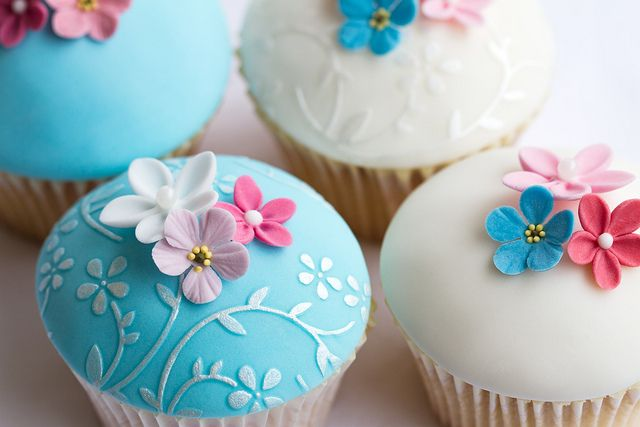 Pretty cupcakes: Cup Cakes, Sweet, Flower Cupcake, Cupcakes, Food, Wedding, Cupcake Ideas, Photo, Dessert
