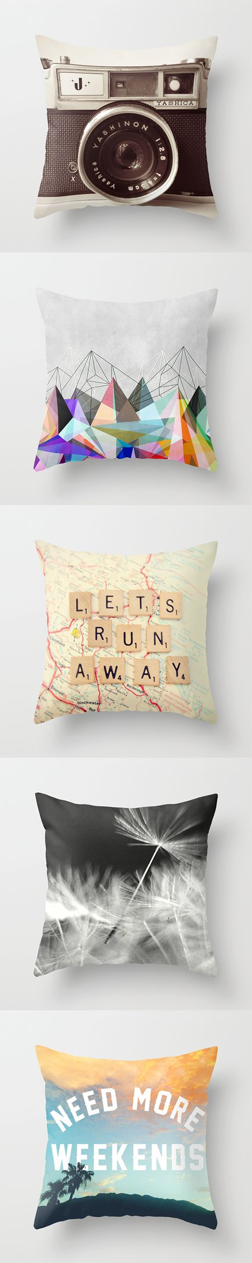 Throw Pillows and millions of other products available at Society6.com today. Every purchase supports independent art and the artist that created it.:
