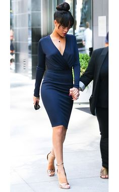 WHO:    Rihanna  WHAT:    Givenchy  WHERE:    On the street, New York  WHEN:    July 6, 2012