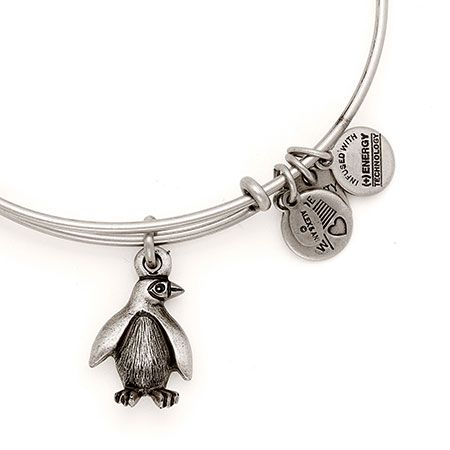 Alex and Ani Penguin Zoos And Aquariums Expandable Wire Bangle Russian Silver: Ani Penguin, Penguin Zoos, Aquariums Expandable, Alex And Ani Silver, Ani Bracelet, Russian Silver, Alex And Ani Bangles Silver