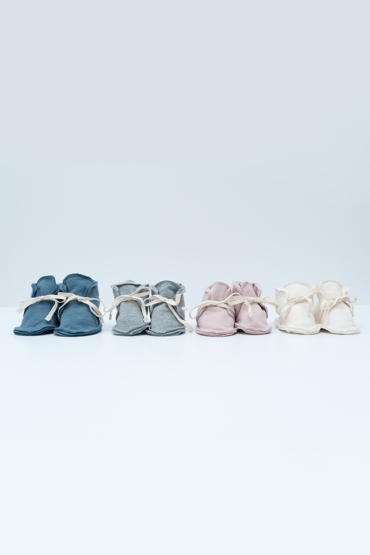 Gray Label Raw Edged Booties: Booties Graylabelkids, Babies, Blue, Kids Fashion, Baby Projects, Baby Booties, Color Pastel, Baby Diy, Baby Shoes
