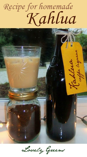 How to make Kahlua - Everyone's Favourite Coffee Liqueur. By making your own Kahlua you save $$$ PLUS it makes a great gift. Personalize it with a custom label.  NOTE: I make this every year during the holidays, everyone loves receiving it!: Liqueurs,