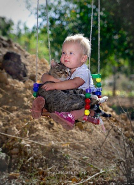 No matter young..or old...we carry our animals in our hearts always...: Cats, Animals, Sweet, Pet, Funny, Baby, Kids, Friend