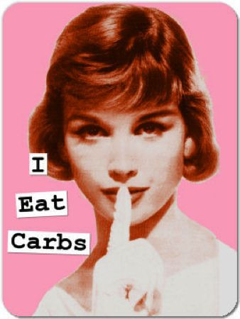 shhhh.... i eat carbs :-): Quotes, Stuff, Food, Funny, Funnies, Humor, Things, Eat Carbs