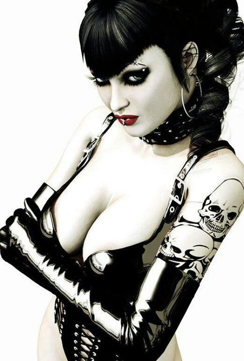 What can I say about this #Goth girl. Sizzling!: Goth Girls, Gothic Beauty, Dark Beauty, Art, Latex, Hot, Dark Side, Tattoo