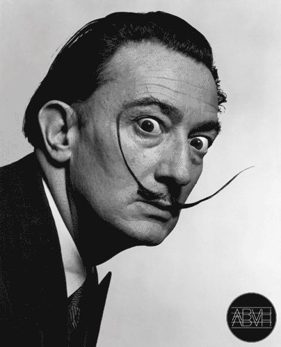 """""""Salvador Dali"""" Gif art by Made by ABVH: Crazy Dali, Salvadordali, Funny, Salvador Dali, Gif Art, Dali Gif, Gifs"""