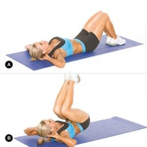Abs, lower back.  Love this.  Also do it on a swiss ball (hands behind you against a wall or holding a pole/ bench/ something): Lower Abs, Fitness, Weight Loss, Ab Exercises, Reverse Crunches, Six Packs, Pack Abs, Ab Workouts, Health