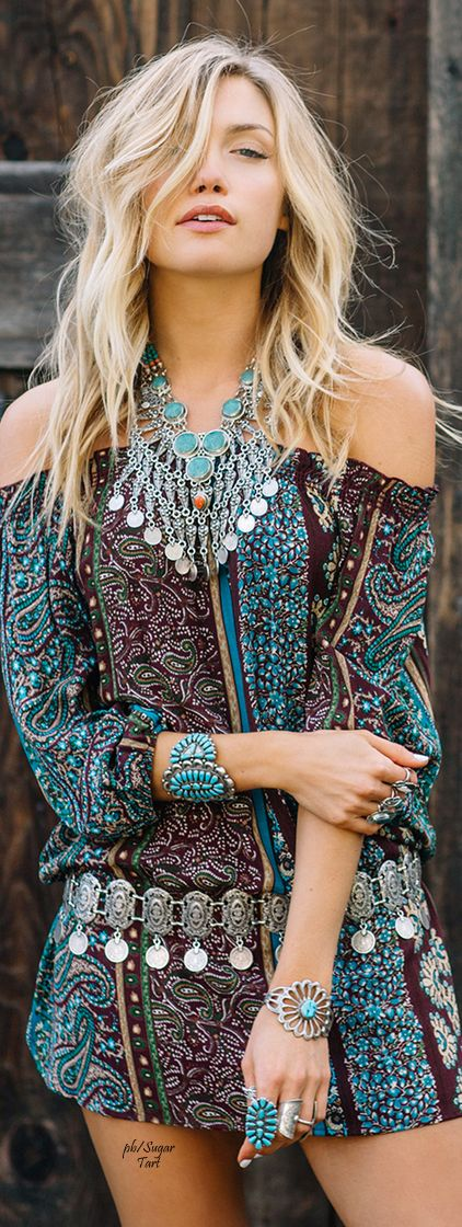 ☮ Alluring Bohemian Style ☮ Free spirit with a touch of chic style: Boho Chic, Bohemian Fashion, Boho Gypsy Hippie, Alluring Bohemian, Boho Hippie, Hippie Chic, Bohemian Style, Boho Style