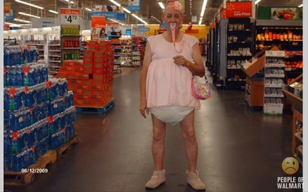 Friends don't let friends end up one of the people of Walmart that gets made fun of on the Internet like this...: Funny Pictures, Walmart Shoppers, Big Baby, Funny Stuff, Wal Mart, Walmart People, Walmartpeople, People Of Walmart, Peopleofwalmart