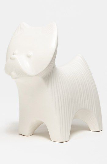 Jonathan Adler Ceramic Terrier available at #Nordstrom: Decor, Aaa 7 15, Westie, Clay Pottery, Ceramics 1, Jonathan Adler Ceramics, Ceramic Animals, Ceramic Terrier