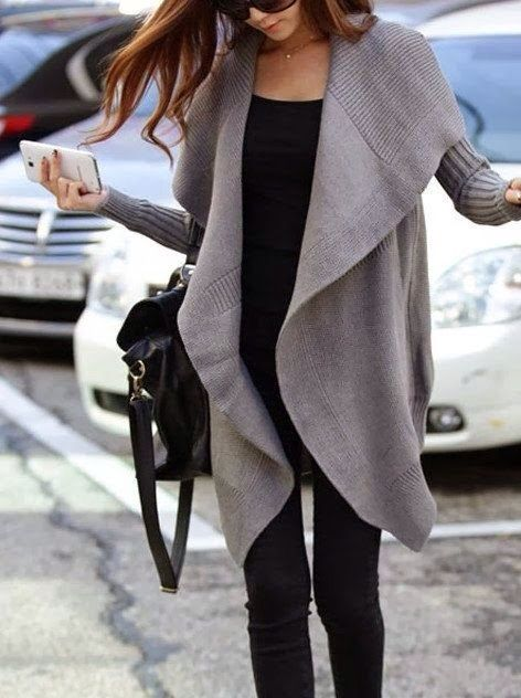 oversize sweater: Cotton Sweater, Style, Outfit, Big Sweater, Fall Winter