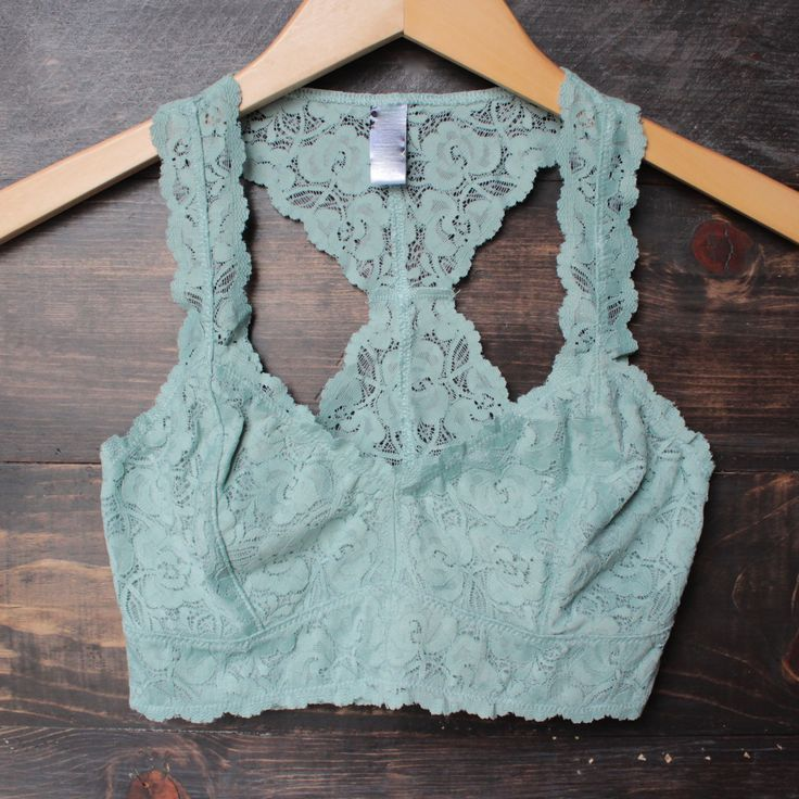 racer back all over scalloped lace bralette (6 colors): Lace Bralettes, Lingerie, Style, Colors, Scalloped Lace, Swimwear Clothes, Products, Lace Bras