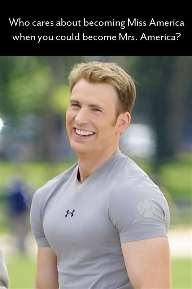Randomness Is Awesomeness: Chrisevans, Captainamerica, Chris Evans, Captain America, Funny Picture, Avenger, Steve Rogers, Mrs America