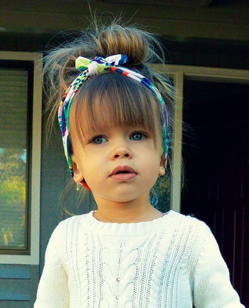 She is adorable. Can not wait for my girls to have hair: Babies, Babygirl, Little Girl Style, Little Girl Hairstyle, Baby Girl, Hair Style, Toddler Girl Hairstyle