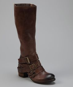 Brown Outlawed Leather Boot | something special every day