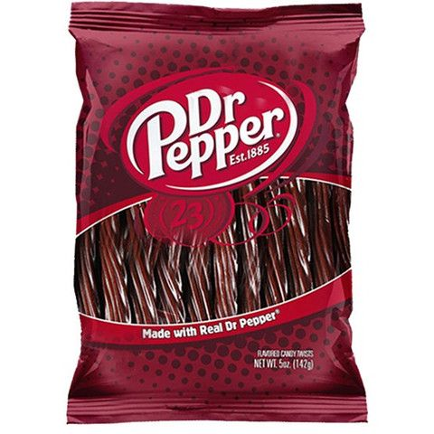 Dr Pepper Licorice: American Licorice, Twists 142G, Dr Pepper 7Up, Pepper Candy, Candy Twists, Dr. Pepper, Drpepper Licorice